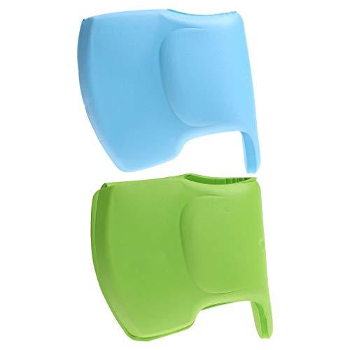 Bath Tap Guard-WENTS Cubierta De Protección del Grifo De Seguridad para Bebés con Diseño De Elefante Protectores De Esquina para Baño Bath Tap Edge para Protección De Seguridad para Bebés Y Niños