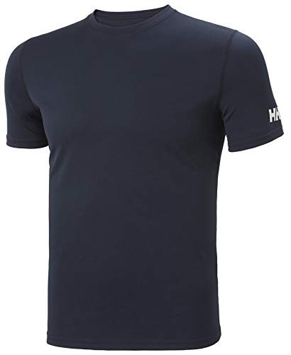 Helly Hansen Herren HH Tech Technisches T-Shirt, Navy, L
