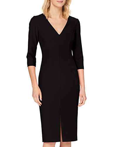 HUGO Damen Kleid Kalayla, Black1, 36
