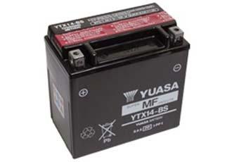 BATTERIA YUASA (YTX14-BS) MOTO-GUZZI V7 SPECIAL 750 2012-2017