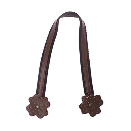 Eliky tas handvat 45 cm lederen tas draaggreep schoudertassen riem voor handtas DIY coffee