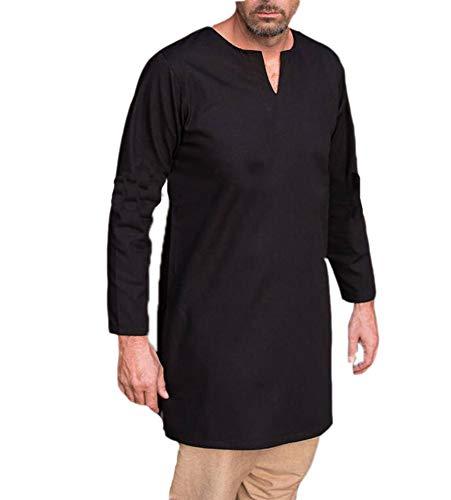 Keephen Männer Casual Ethnische Kaftan Thobe Nahen Osten Saudi Arabisch Roben Kleider