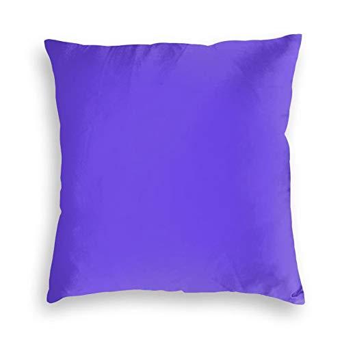 Mdz - Funda de almohada cuadrada de terciopelo para sofá, cama, dormitorio, sofá, 45,7 x 45,7 cm
