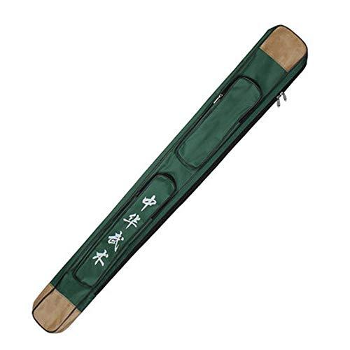 PROTEGGERE LE SPADE - La borsa della spada ha una doppia cerniera e può inserire due spade / dao / jian. Il design di separazione può ridurre le collisioni e l'usura tra le spade. DUREVOLE E IMPERMEABILE - Tessuto Oxford resistente e pelle PU di alta...
