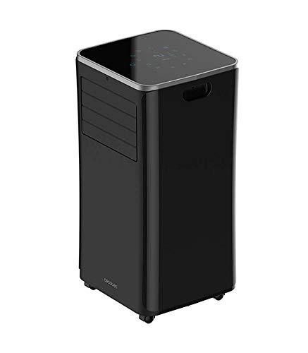 Cecotec EnergySilence Clima 9250 SmartHeating - Aire Acondicionado frío/calor portátil (Potente 4 en 1, Ultrasilencioso, 9000 BTU, 350 m3/h, Pantalla Digital, Temporizador 24 Horas, Mando a Distancia)