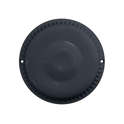 Afras Anti Vortex Black Drain Cover 7 3/8 inch Made 11064BK