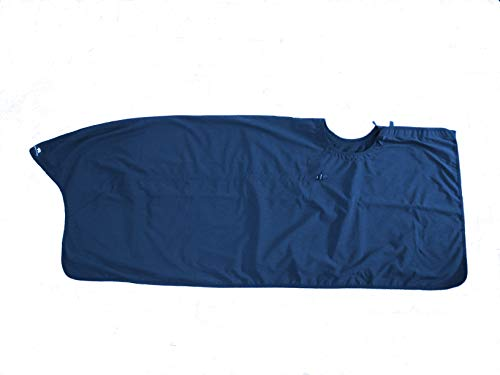 Saddle Skirt Saddle Cover, Riding Quarter Sheet Rug, EXTENDED Version Competition Exercise Sheet Protects Saddle and keeps horse and Rider Dry.  For Western or English Riding, Water and Wind Resistant