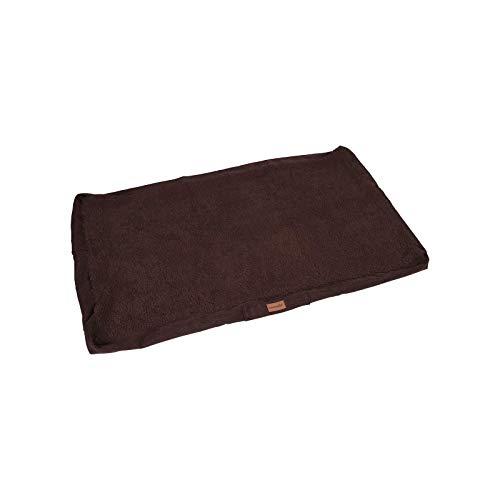brunolie Funda de Recambio Funda de Repuesto para Balu, Lavable, higiénica y Antideslizante, marrón Oscuro, Talla XL