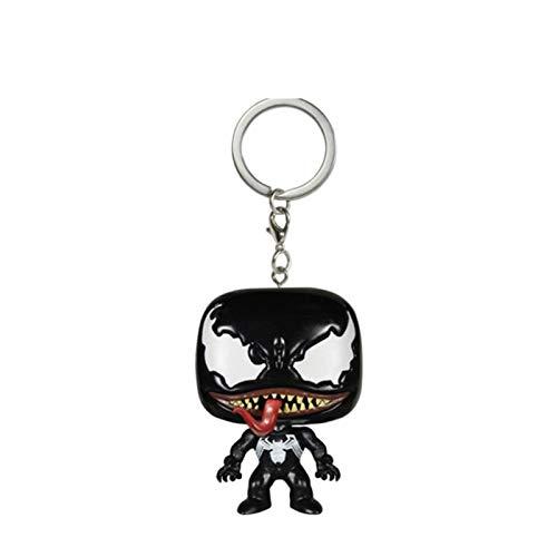 Yuqianjin Llavero Pop: Pop Venom Figura Modelo Llavero Q...