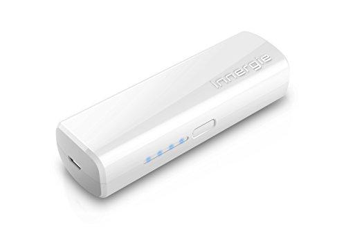 Innergie PocketCell 2600 - Power Bank/ Akku Pack/ externer Akku + USB-Kabel (USB-Anschluss, 2600mAh) lädt mehr als 10.000 USB Geräte, Premiumqualität: bis 800 und mehr Ladezyklen, Intelligenter Lade-Chip mit 5-Fach Schutzfunktion, flugzeugzugelassen nach RTCA Bestimmung, klein und kompakt, nur 74 Gramm leicht