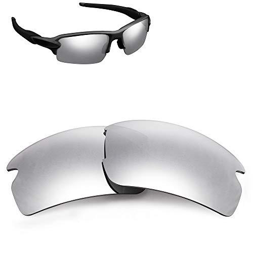 Lentes de repuesto polarizadas para gafas de sol Oakley Flak 2.0 OO9188