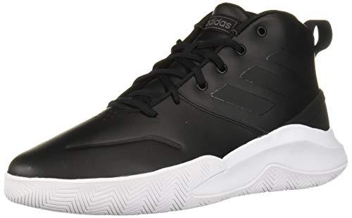 adidas Men's OwnTheGame Wide Basketball Shoe, Black/Night Metallic, 6.5 W US