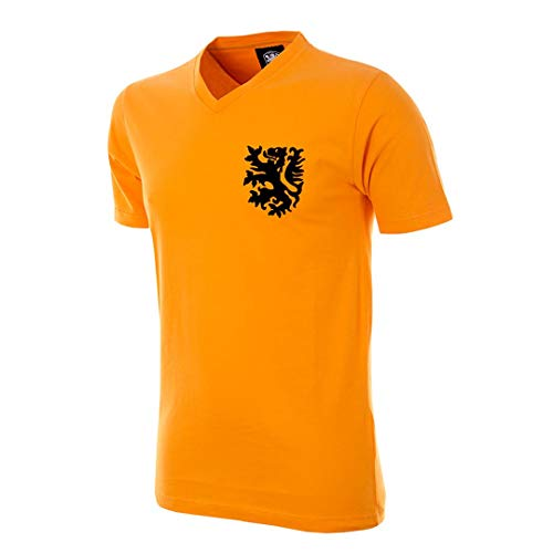 Copa T-Shirt Holland col en V pour Homme XXL Orange