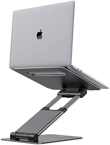 Nulaxy Laptop Stand Ergonomic Sit to Stand Laptop Holder Convertor Adjustable Height from 2 product image