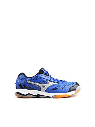 MIZUNO - Zapatilla voley wave rally 5 azul/plata mz v1ga1440.03