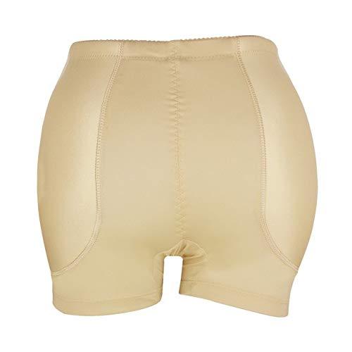 Heliansheng Levantamiento de glúteos Talladora de Nalgas Femeninas Bragas modeladora de Cuerpo potenciador de glúteos Bragas Abdominales Sexis -Skin-XXL-M3606