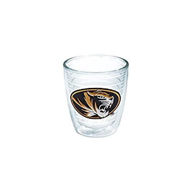 Tervis 1079369 Missouri Tigers Athletic Logo Tumbler with Emblem 12oz, Clear