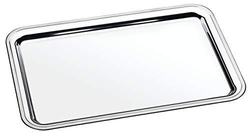 Tramontina Buena Bandeja para Servir de Acero, 49 x 33 cm, Apta para lavavajillas, Inoxidable
