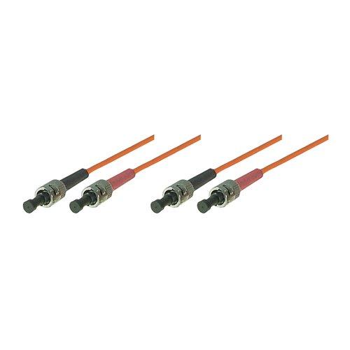 Tecline 75801 Cavo in Fibra Ottica OM2 50/125 µm, 1 M, Colore: Arancione