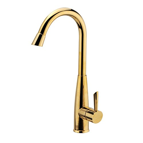 Great Features Of Modern Kitchen Faucet Solid Brass Sprayer Kitchen Mixer Taps Copper kitchen titani...