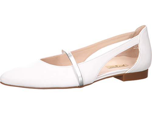 Paul Green Ballerina 3735-065 Größe 40 EU Weiß (Weiss)