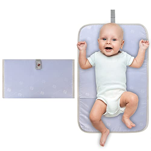 Portable Baby Nappy Changing Mat, Travel Diaper Change Pad, Newborns Baby Changing Mat Portable for Use Anywhere