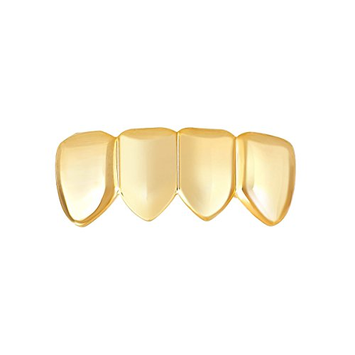 4er Gold Grill–One Size Fits All–Full Bottom