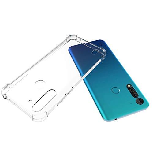MOHAMED para Motorola Moto G8 Power Lite a Prueba de choques Antideslizante espesando a Prueba de Agua TPU Funda Protectora