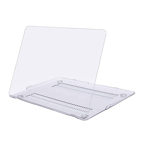 MOSISO Case Compatibile con MacBook Air 13 Pollici (Modelli: A1369 & A1466, Versione Precedente 2010-2017 Uscita), Custodia Rigid in Plastica, Chiaro Cristallo