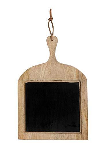 J-line Memo keuken leisteen houten plank om op te hangen Retro 48 cm