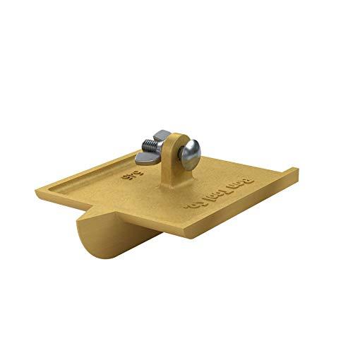 Bon Tool 12-545 6-Inch by 4-1/2-Inch Bronze Walking Concrete Groover, 1-Inch Bit Depth, 1/2-Inch Bit Width