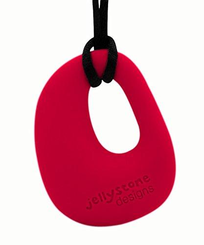 Jellystone-Design: Kette mit Anhänger als Nuckel-Ersatz, scharlachrot