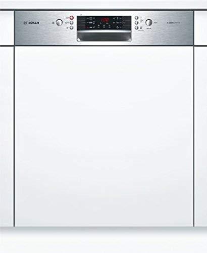 Bosch SMI46KS01E Serie 4 Geschirrspüler Teilintegriert / A++ / 60 cm / Edelstahl / 262 kWh/Jahr / 13 MGD / SuperSilence / Extra Trocknen / VarioSchublade