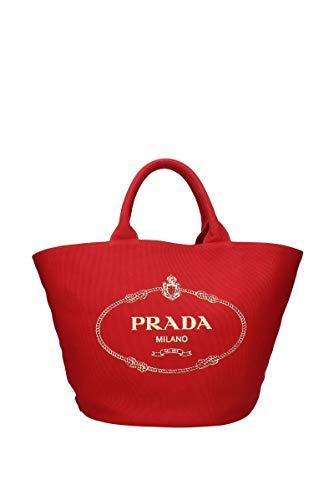 Prada Handtaschen Damen - Stoff (1BG163ROSSO)