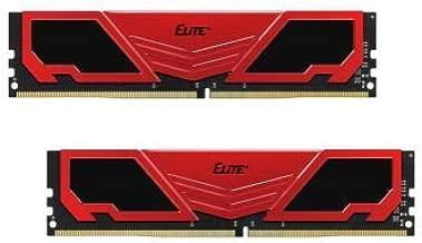 Team 16GB (2 x 8GB) Elite Plus DDR4 PC4-19200 2400 MHz 288-Pin SDRAM Desktop Memory Model TPRD416G2400HC16DC02