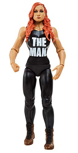 WWE Figura de Accion Luchador Becky Lynch (Mattel GKR88)