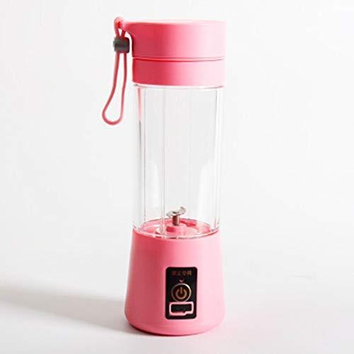Lounayy Tragbare Größe USB Elektrische Fruchtpresse Handheld Basic Mode Smoothie Maker Mixer Wiederaufladbare Mini Tragbare Saft Tasse Wasser Sale Home Täglich Gebrauch Produkt