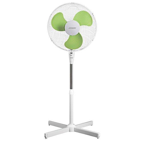 Ventilatore a piantana colonna Johnson VENT0 43 CM 50 watt Altezza regolabile