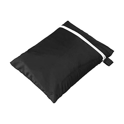 Classic home Folding Garden Chair Covers Waterproof, UV Resistant Chair Covers Black for Home Garden Furniture Protect
