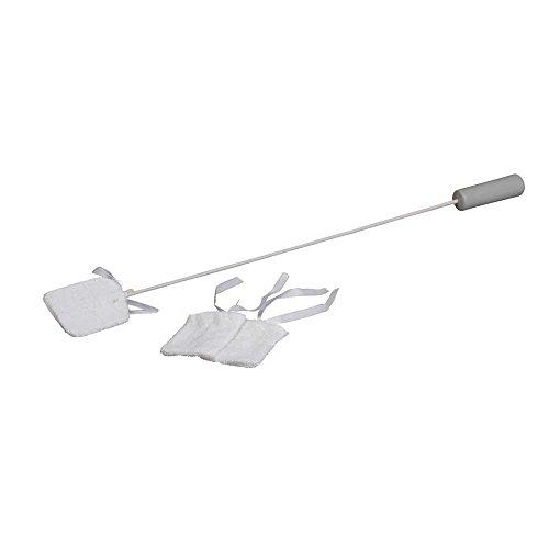 Preisvergleich Produktbild Behrend Zehenreiniger,  Fusspflege,  Hilfsmittel,  71 cm,  Kunststoffgriff,  2 Ersatzbezüge