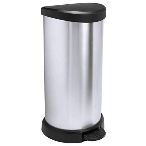 Curver Deco Bin 40 L Plastic Silver
