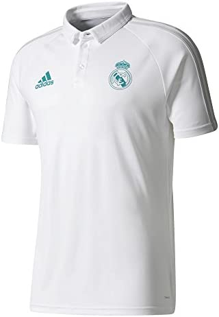 Adidas Camiseta Tipo Polo Real Madrid, Hombre