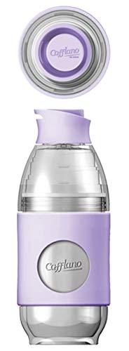 Cafflano Go-Brew, botella de infusión portátil, vertir sobre el juego de café, todo en uno, botella de bebida, ecológica, sin BPA