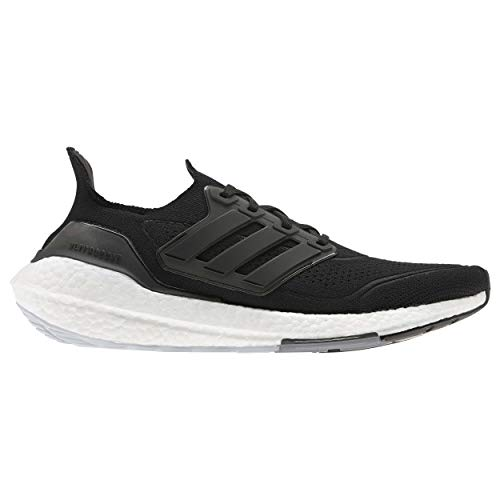 adidas Ultraboost 21, Zapatillas para Correr Hombre, Core Black/Core Black/Grey Four, 42 2/3 EU