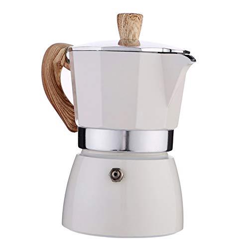 Nobranded Cafetera Italiana Moka Espresso CAFÉ percolador Olla Estufa cafetera 150ml/350ml -...