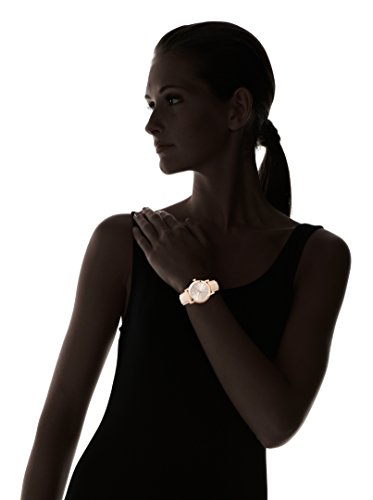 Burberry BU9109 Montre pour Femme Bracelet en Cuir Beige
