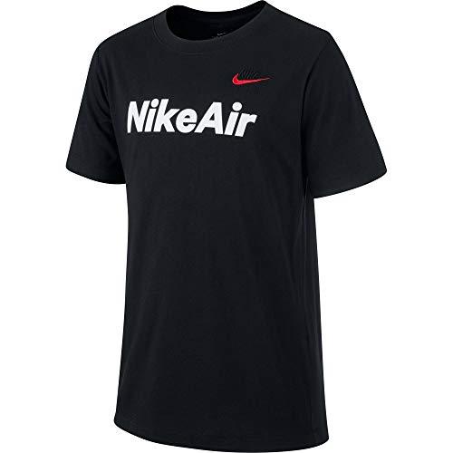 NIKE CU6607 Camiseta B NSW Air CS para Niño, Negro, M