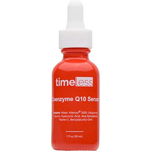 Timeless Skin Care Coenzyme Q10 Serum + Matrixyl 3000 Serum 30ml + Hylaluronic Acid, 30 ml
