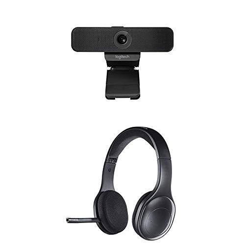 LOGITECH C925e Webcam + Logitech H800 Headset schnurlos schwarz