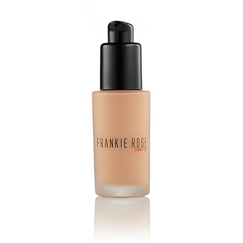 Frankie Rose Cosmetics Matte Perfection Foundation for Dry, Sensitive, Combination, Normal or Oily Skin – Full Coverage, Long lasting, Lightweight, Hydrating - Flawless Complexion - Bare